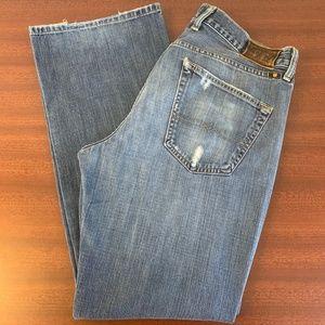 Lucky Brand 227 Original Button Fly 100% Cotton